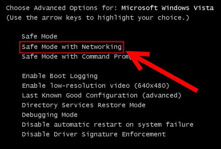 windows 7 safe mode