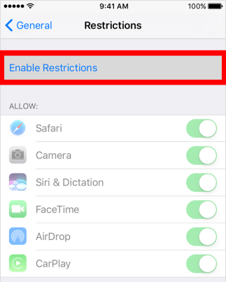 ios10-iphone6-settings-general-restrictions-enable