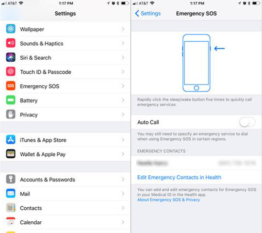 iOS11EmergencySOS